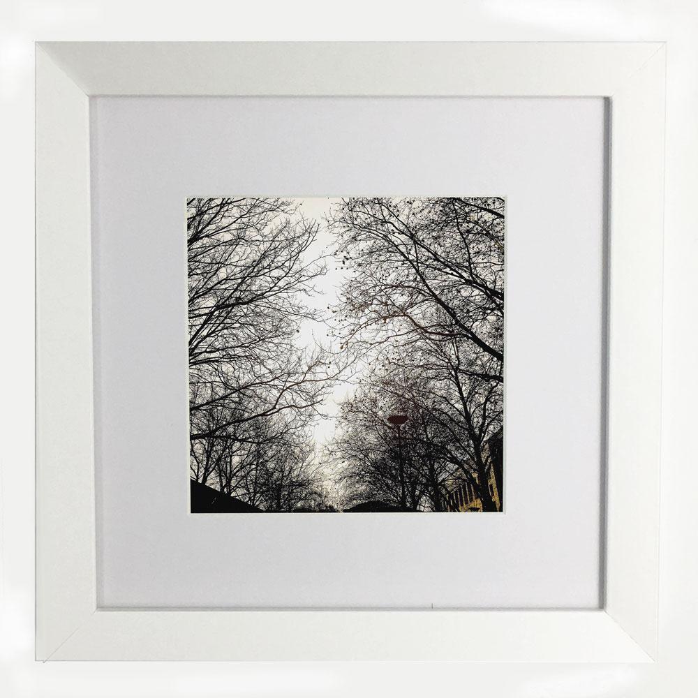 City Lace Framed Print - Littleredbirdy